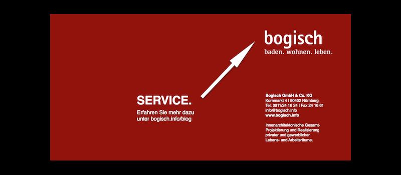 Service = Bogisch